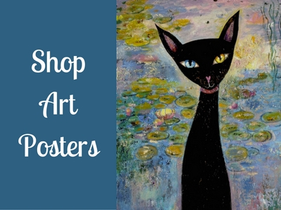 Black Cat Posters